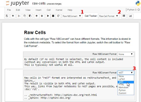 Raw Cells — nbsphinx version 0 3 5